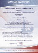 IEC61508 and IEC61511 compliance seminar in Aberdeen
