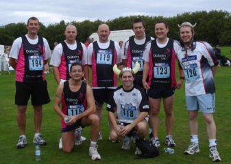 'Before' Liverpool 10k for Diabetes UK - David Green ESC