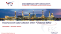 Importance of Data Collection within Functional Safety – Webinar by David Green Engineering Safety Consultants