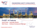 ProSET Version 6 New Features Webinar - Engineering Safety Consultants