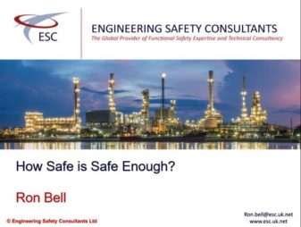How Safe is Safe Enough Webinar - Engineering Safety Consultants