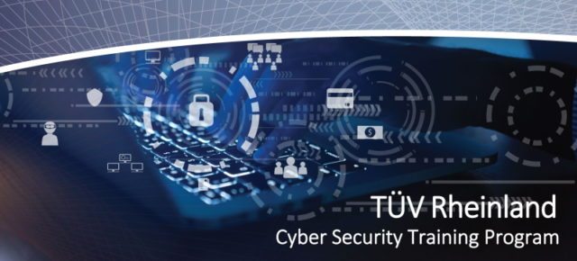ESC's Fundamentals of Cyber Security (TÜV Rheinland) training course