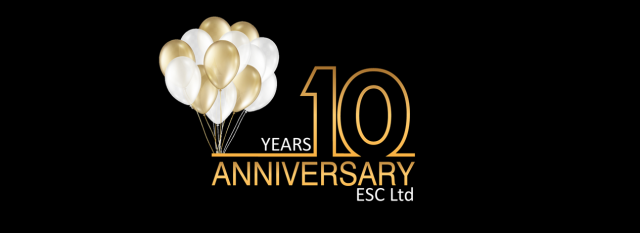 ESC is celebrating its 10th Anniversary