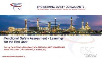 Functional Safety Assessment - Learnings for the end user Webinar