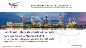 Functional Safety Standards – Panel Discussion