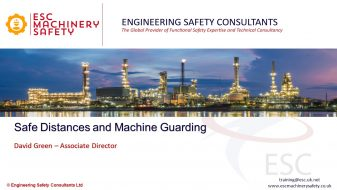 Safe Distances and Machine Guarding - Webinar