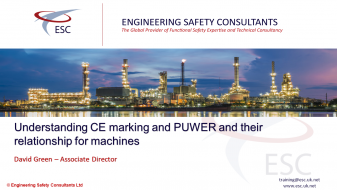 Understanding CE Marking and PUWER and their Relationship for Machines - Webinar