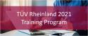 ESC_TÜV Rheinland 2021 Functional Safety and Cyber Security Training Program