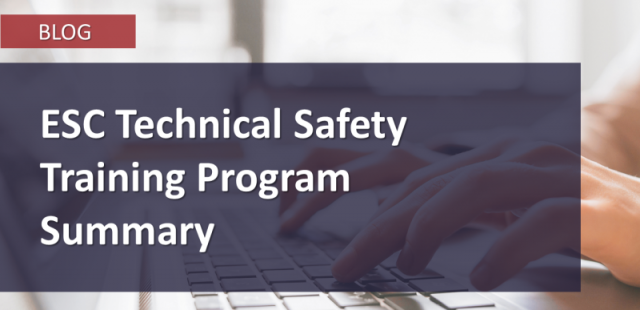 ESC_Technical-Safety-Training-Summary